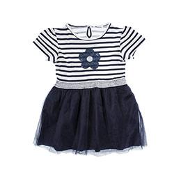 Kız Bebek Elbise Lacivert (12-24 ay)