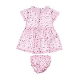 Kız Bebek Elbise Pembe (12-24 ay)