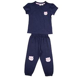 Kız Bebek Pijama Takımı Lacivert (12-24 ay)