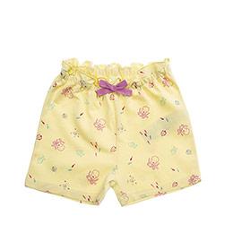 Kız Bebek Şort Sarı (12-24 ay)