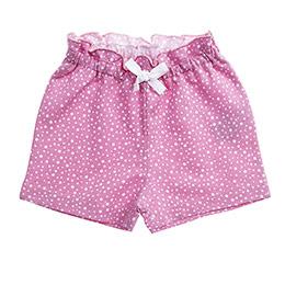 Kız Bebek Şort Pembe (12-24 ay)