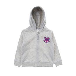 Kız Bebek Sweatshirt Gri Melanj (12-24 ay)