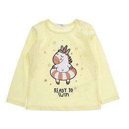 Kız Bebek Tişört Sarı (12-24 ay)