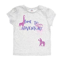 Kız Bebek Tişört Bej Melanj (12-24 ay)