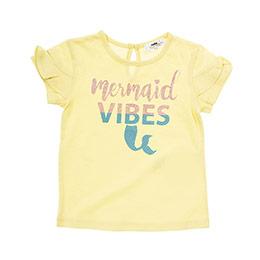 Kız Bebek Tişört Açık Sarı (12-24 ay)
