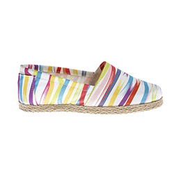 Kız Çocuk Keten Ayakkabı Beyaz (28-35 numara)