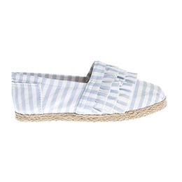 Kız Çocuk Keten Ayakkabı Mavi (28-35 numara)