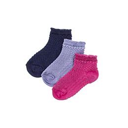 Kız Çocuk 3lü Patik Çorap Mor (23-34 numara)