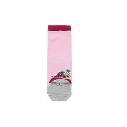 Kız Çocuk Soket Çorap Pembe (23-34 numara)