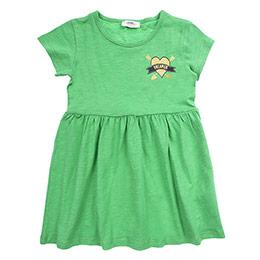 Kız Çocuk Elbise Yeşil (3-7 Yaş)