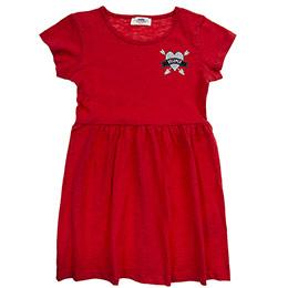 Kız Çocuk Elbise Kırmızı (3-7 Yaş)