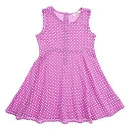 Kız Çocuk Elbise Lila (3-7 Yaş)