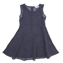 Kız Çocuk Elbise Lacivert (3-7 Yaş)