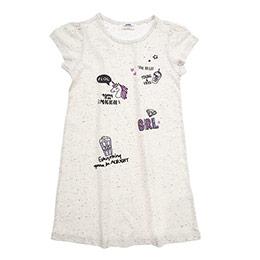 Kız Çocuk Örme Elbise Bej Melanj (3-7 Yaş)