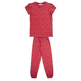 Kız Çocuk Pijama Takımı Mercan (3-7 Yaş)