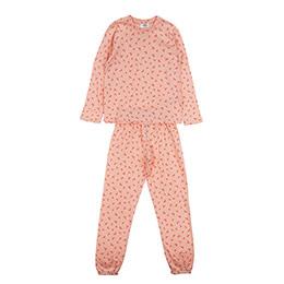 Kız Çocuk Pijama Takımı Somon (3-7 Yaş)