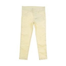 Kız Çocuk Pantolon Sarı (3-7 Yaş)