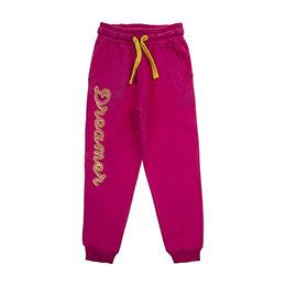 Kız Çocuk Örme Pantolon Pembe (3-7 Yaş)