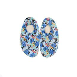Kız Çocuk Deniz ve Havuz Ayakkabısı Mavi (18-35 numara)