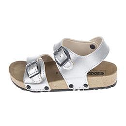 Kız Çocuk Çift Bantlı Sandalet Lame (24-33 numara)