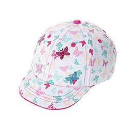 Kız Çocuk Kep Şapka Beyaz (1-3 Yaş)