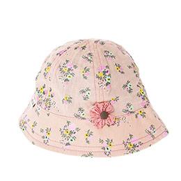 Kız Çocuk Fötr Şapka Pudra (3-7 Yaş)