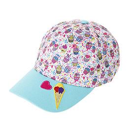 Kız Çocuk Kep Şapka Turkuaz (3-7 Yaş)