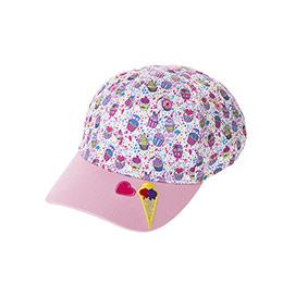 Kız Çocuk Kep Şapka Pembe (3-7 Yaş)