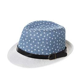 Kız Çocuk Hasır Şapka Beyaz (3-7 Yaş)