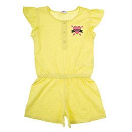 Kız Çocuk Tulum Sarı (3-7 Yaş)