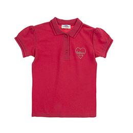 Kız Çocuk Tişört Koyu Pembe (3-7 Yaş)