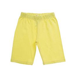Kız Çocuk Kısa Boy Tayt Sarı (3-7 Yaş)