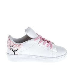 Genç Kız Keten Ayakkabı Beyaz (30-37 numara)