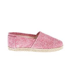 Genç Kız Keten Ayakkabı Fuşya (30-37 numara)