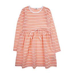 Genç Kız Elbise Mercan Neon (8-12 Yaş)