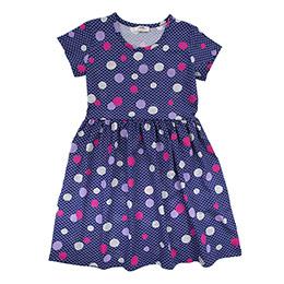 Genç Kız Elbise Gri Melanj (8-12 Yaş)