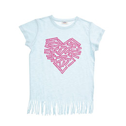 Genç Kız Tişört Mint (8-12 Yaş)