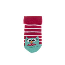 Kız Bebek Soket Çorap Kırmızı (14-22 numara)