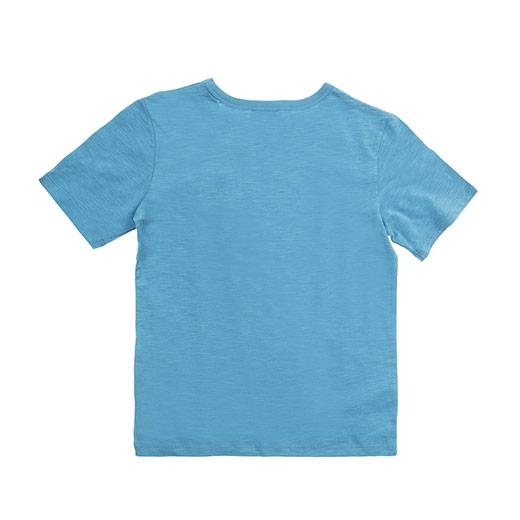 Genç Erkek Tişört Açık Petrol (8-12 Yaş)