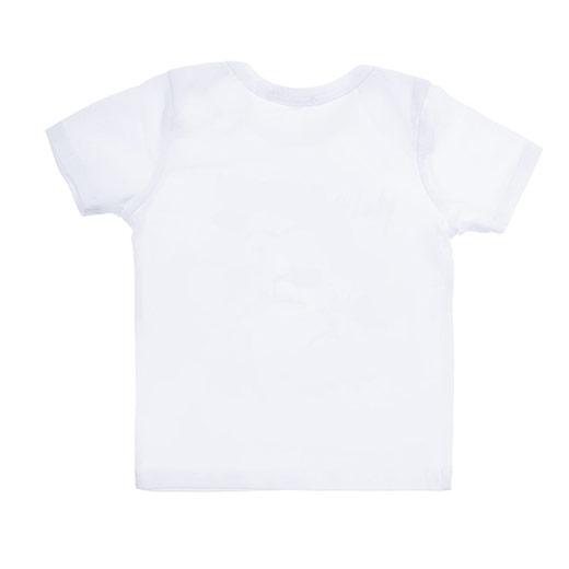 Yenidoğan Erkek Tişört Beyaz (3-15 ay)